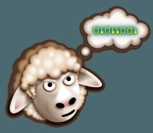Sheep Logo Design by Digiwool Web Design Sherborne