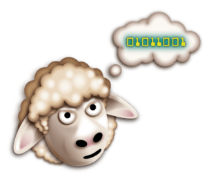 Sheep Logo Design by Digiwool Web Design Sherborne