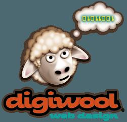 Digiwool Web Design Sherborne Logo