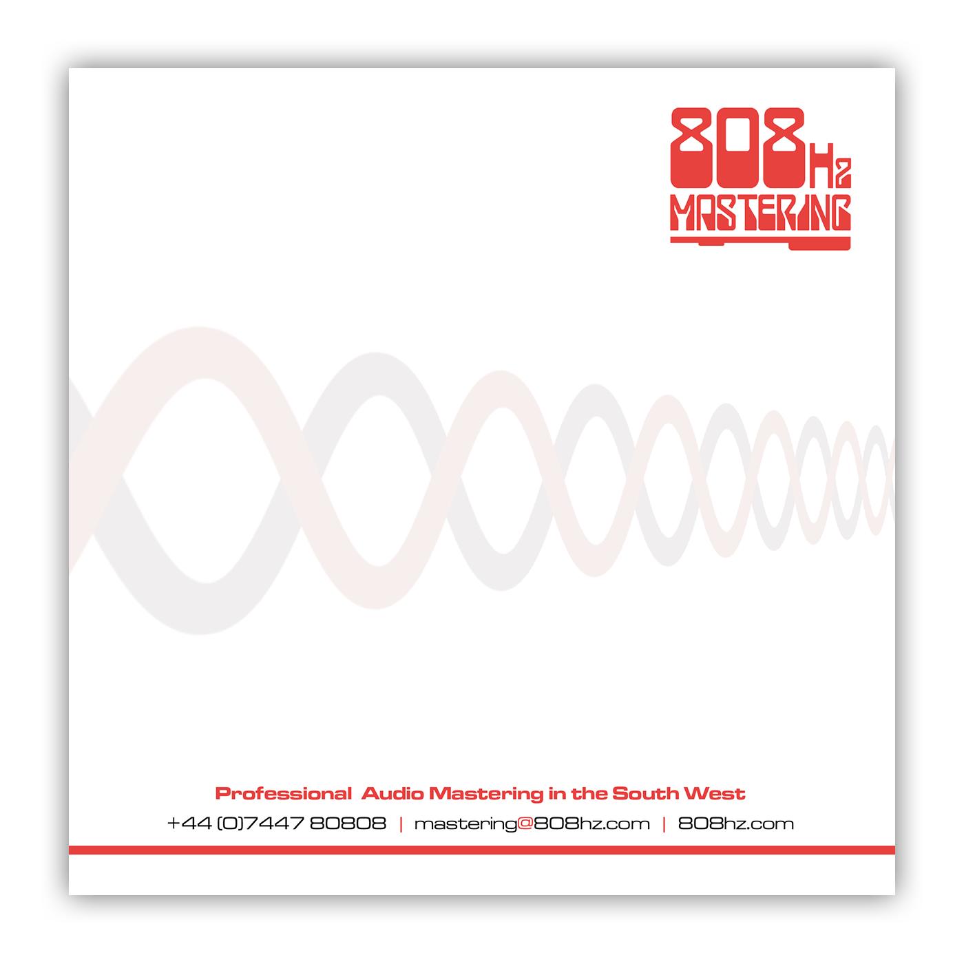 808Hz Mastering Compliments Slip Design