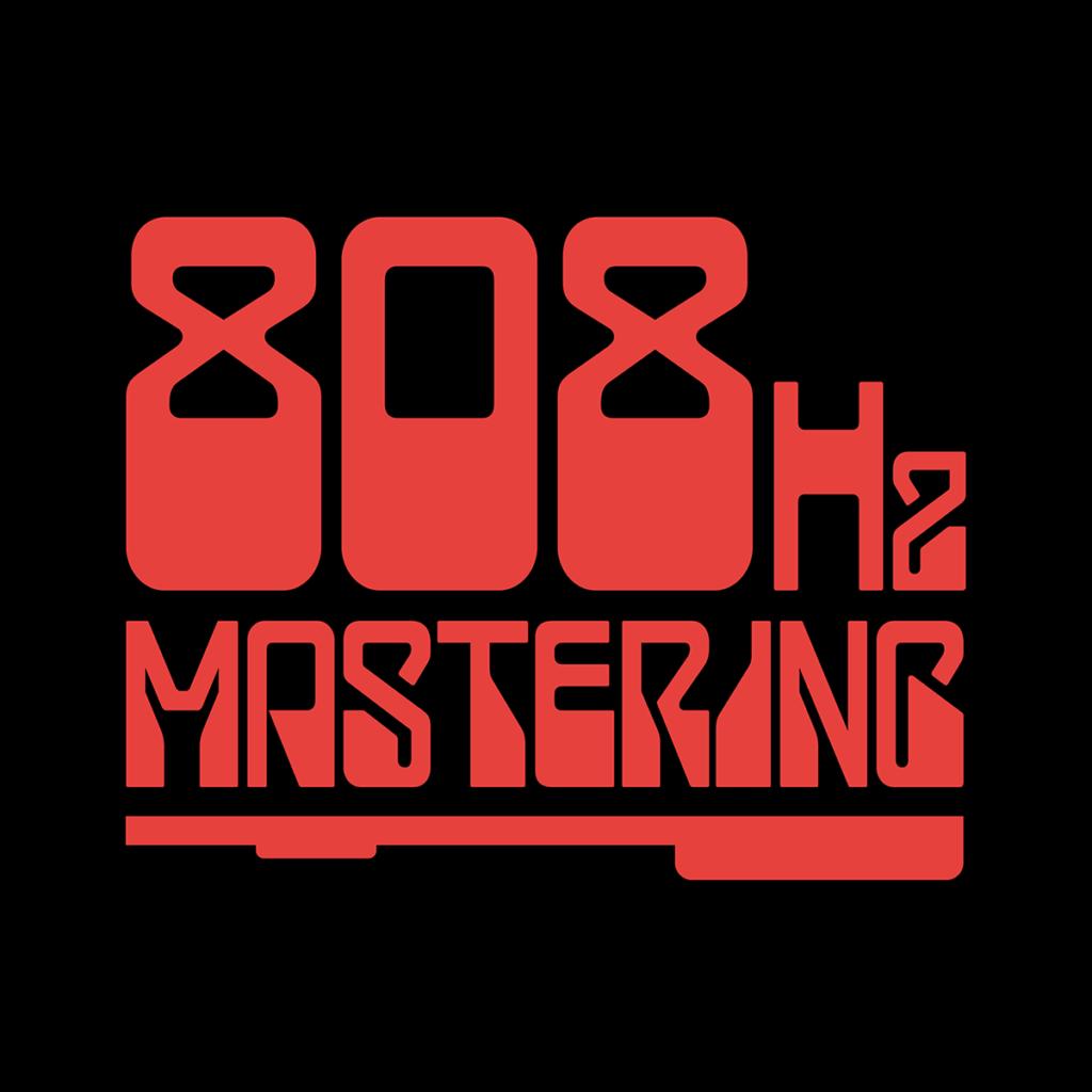 808Hz Mastering Logo Design by Digiwool