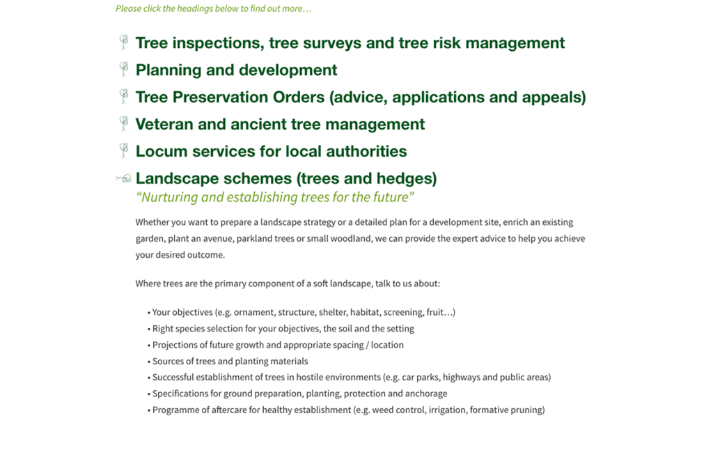 Astill Treecare Tree Inspections by Digiwool Web Design Sherborne