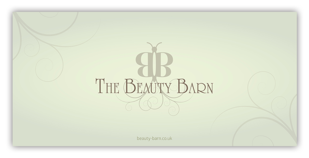 The Beauty Barn Gift Voucher Design by Digiwool Sherborne