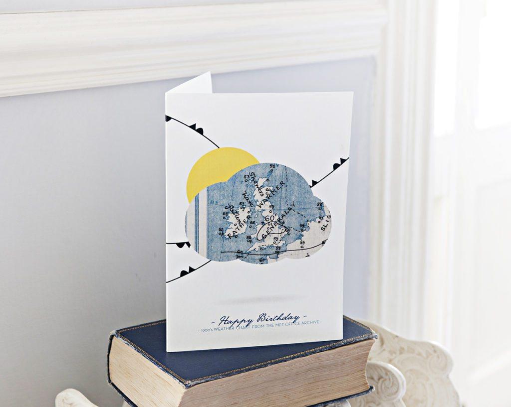 Birthday Weather Greeting Cards Design Sherborne