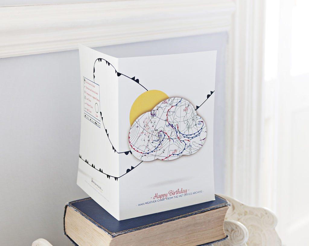 Birthday Weather Greeting Cards Design Dorset