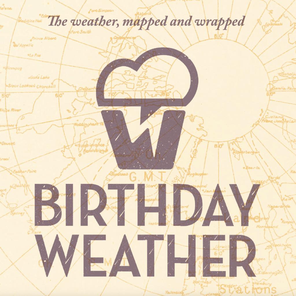 Birthday Weather Logo Design Dorset