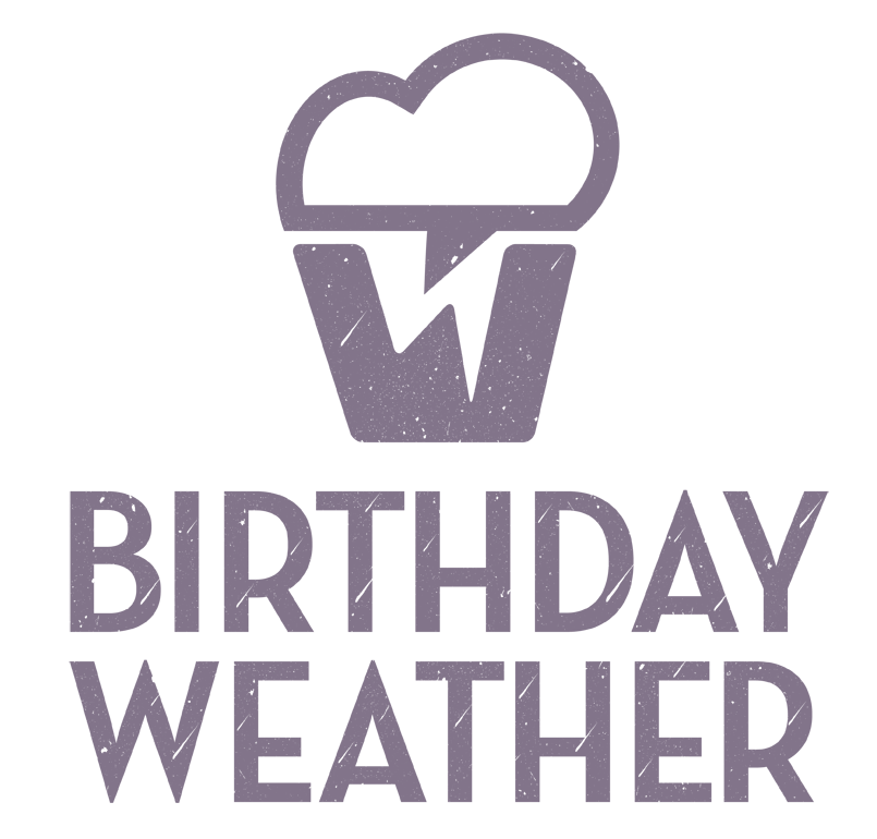 Birthday Weather Logo Design Dorset