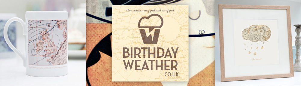 Birthday Weather — Digiwool Logo and Web Design Dorset