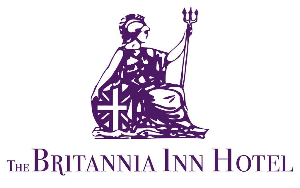 The Britannia In Hotel — Logo Design Dorset