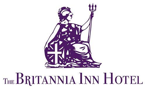 The Britannia In Hotel — Logo Design Sherborne