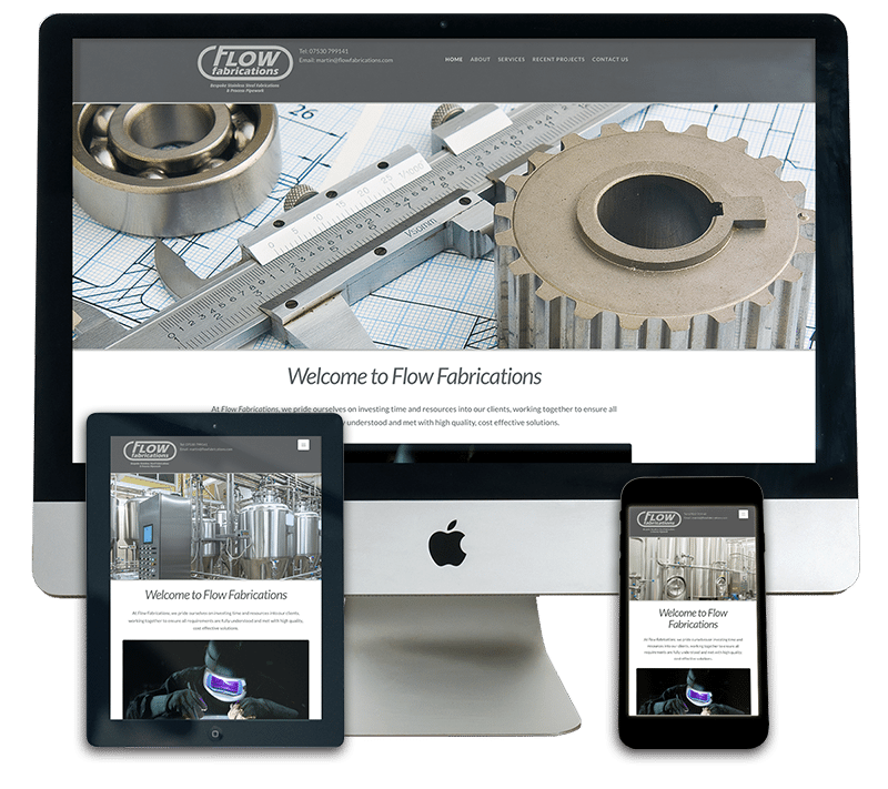 Flow Fabrications Responsive Web Design Sherborne