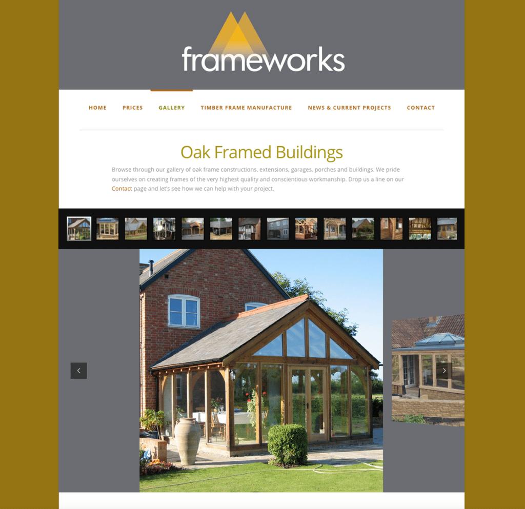 Frameworks — Web Design Dorset Gallery