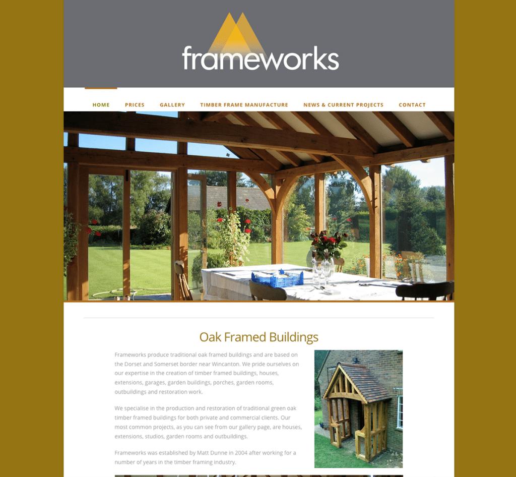Frameworks — Web Design Dorset Home