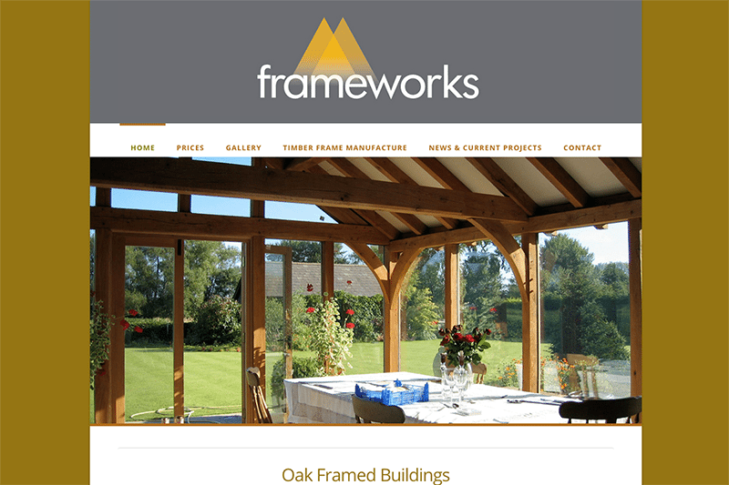 Frameworks — Web Design Sherborne