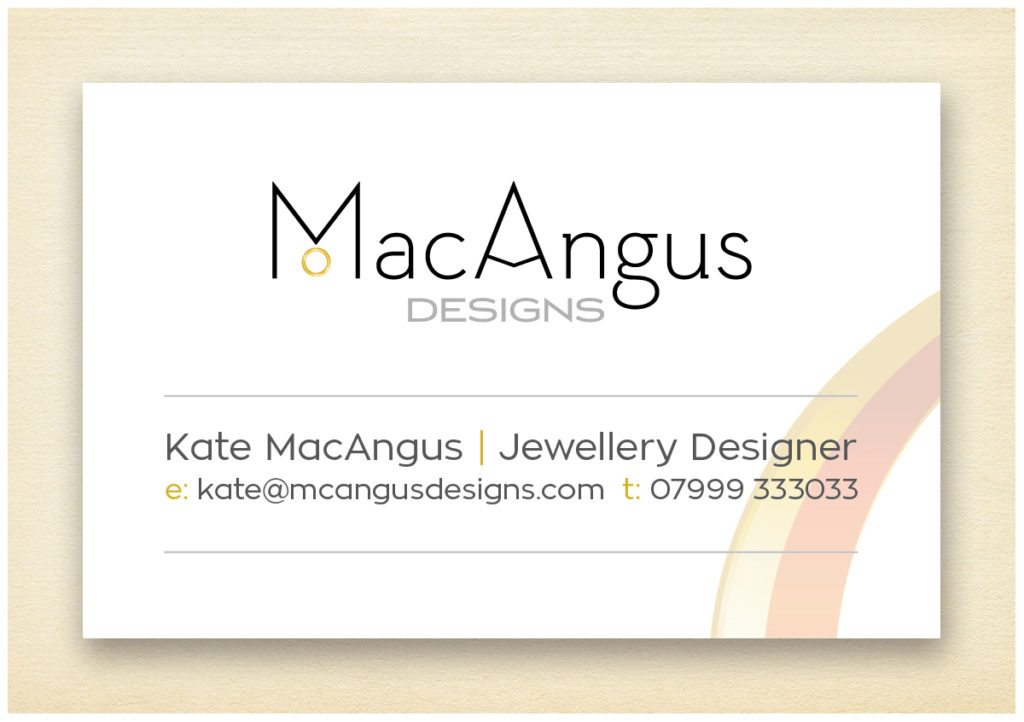 MacAngus Designs Business Card Reverse Design by Digiwool Web Design