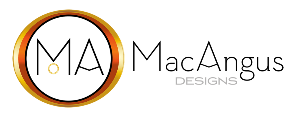 MacAngus Designs Horizontal Logo Design by Digiwool Sherborne