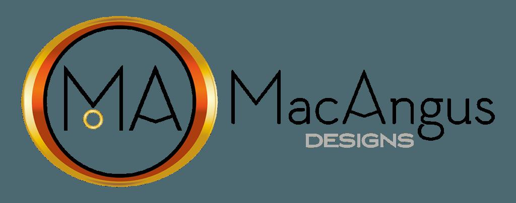 MacAngus Designs Horizontal Logo Design by Digiwool Sherborne