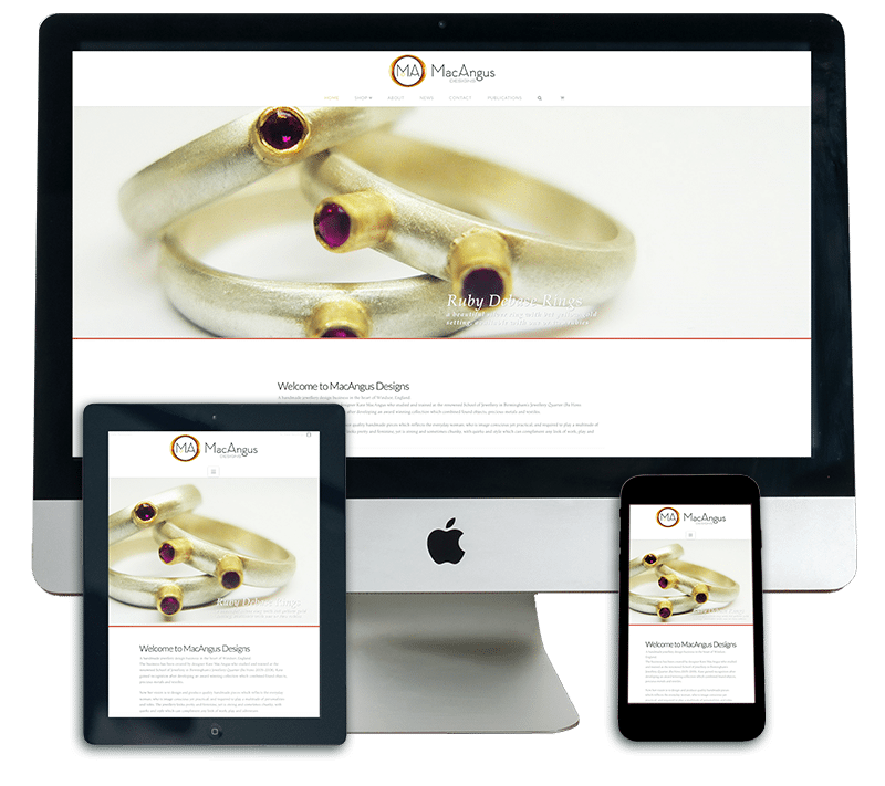 MacAngus Designs Responsive Web Design Sherborne