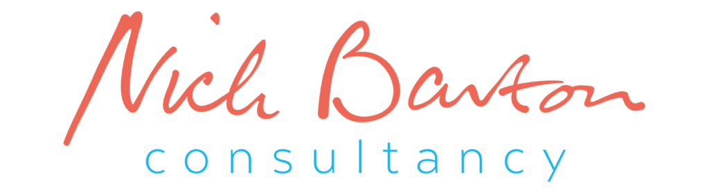 Nick Barton Consultancy — Wordmark Logo Design Dorset