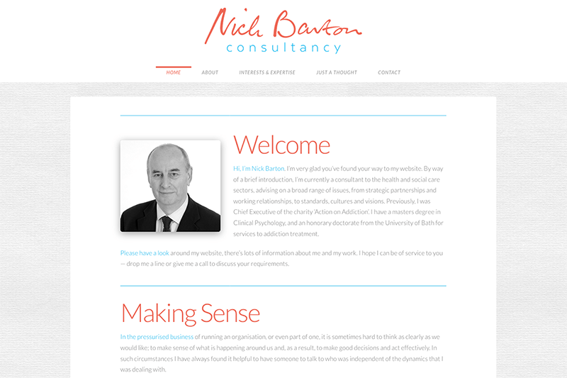 Nick Barton - Logo and Web Design Sherborne