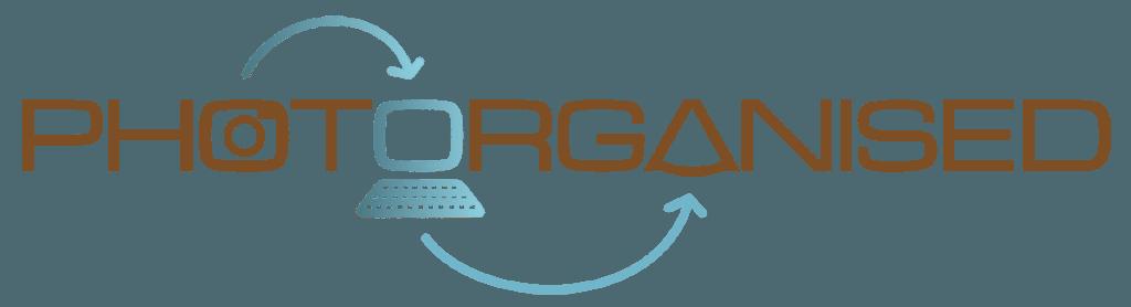 Photorganised Horizontal Logo Design by Digiwool