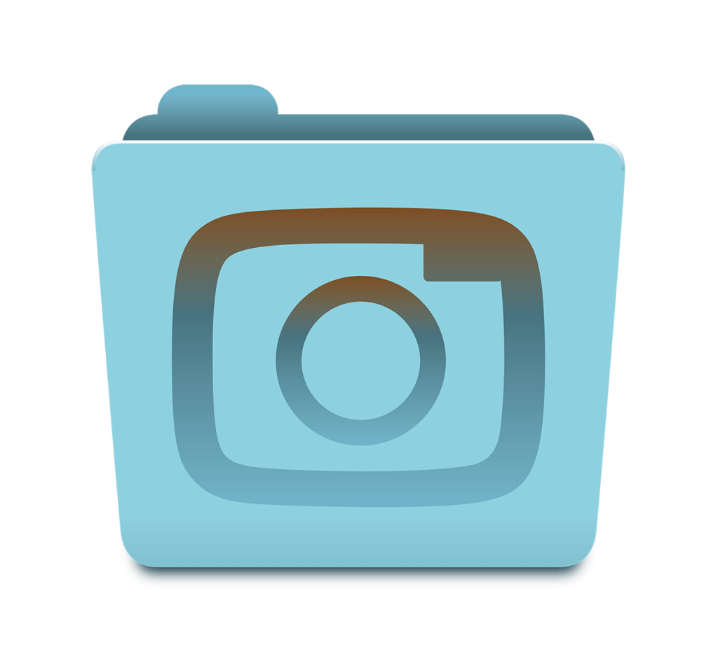 Photorganised Camera Icon Design by Digiwool