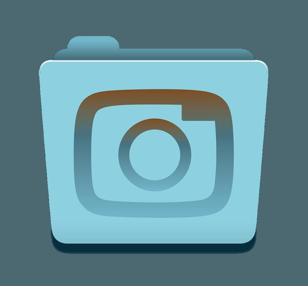 Photorganised Camera Icon Design by Digiwool