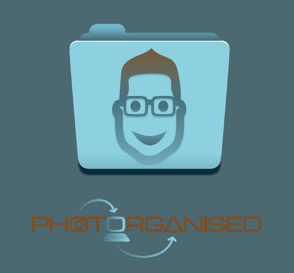 Photorganised Logo Design by Digiwool Sherborne