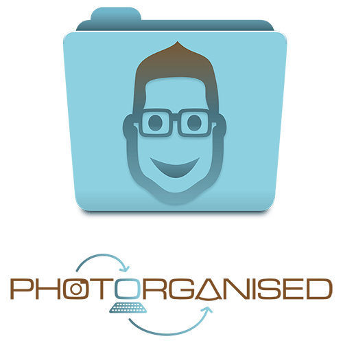 Photorganised Stacked Logo Design by Digiwool