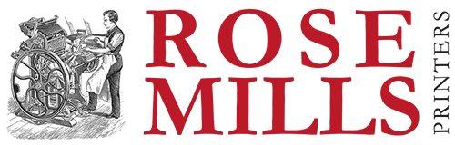 Rose Mills Printers Logo Design Yeovil Somerset