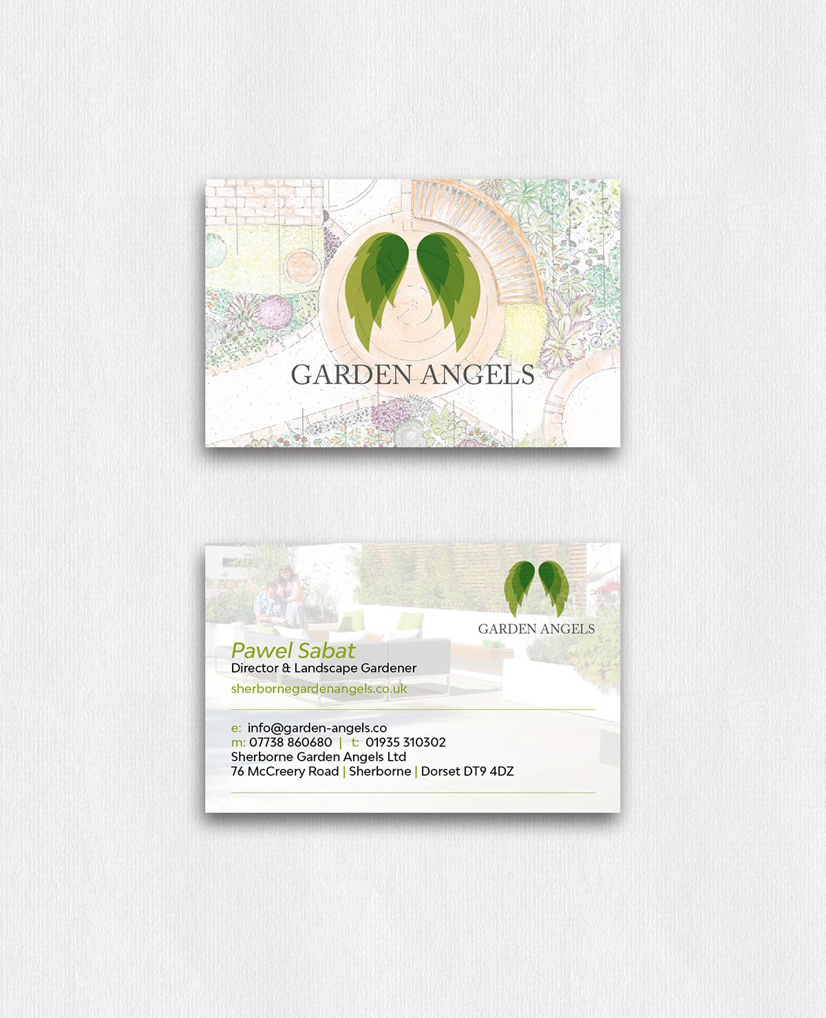 ls — Business Card Design Dorset