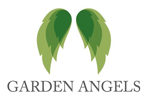 Sherborne Garden Angels — Logo Design Dorset