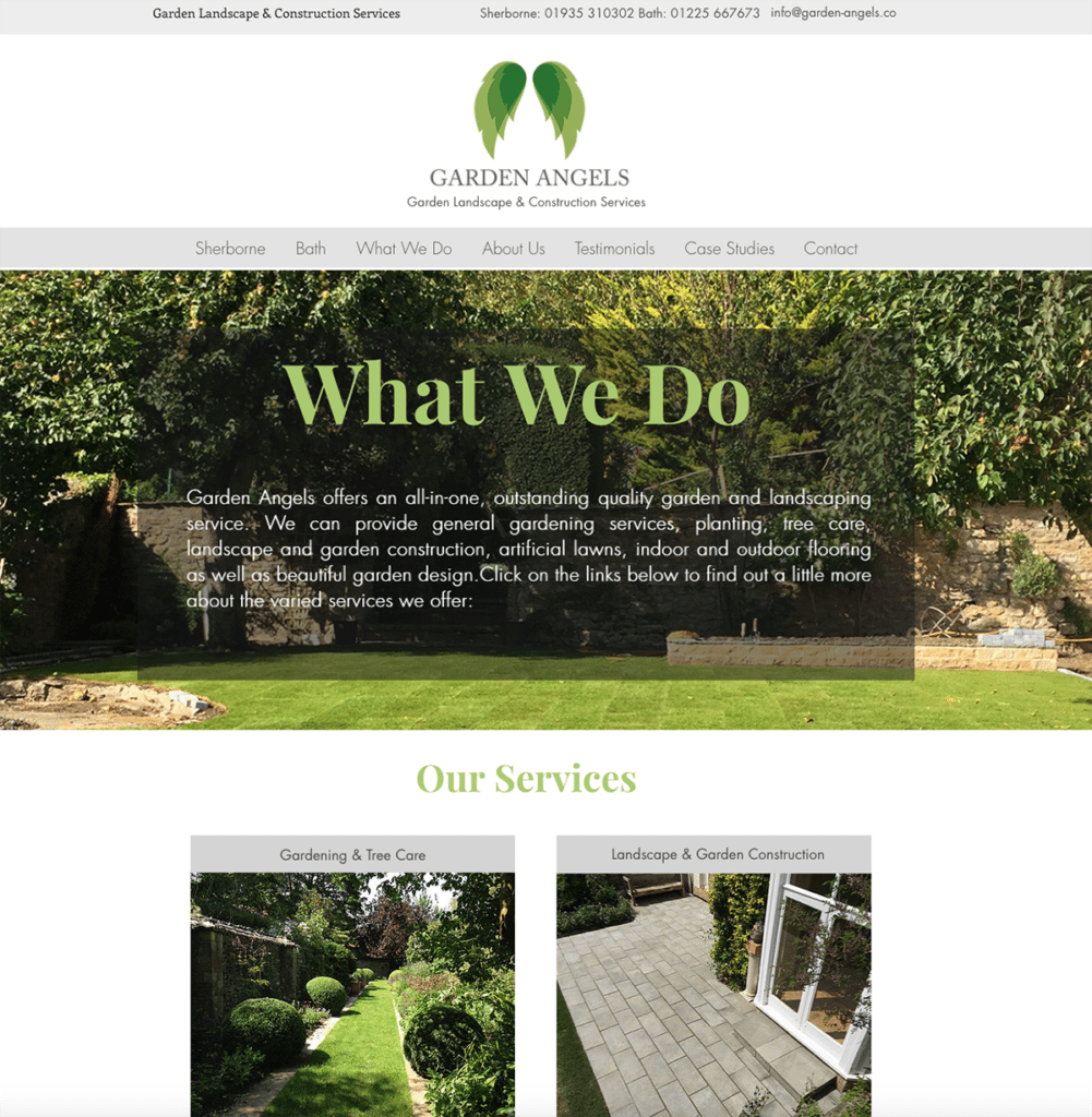 ls — Dorset Web Design What We Do