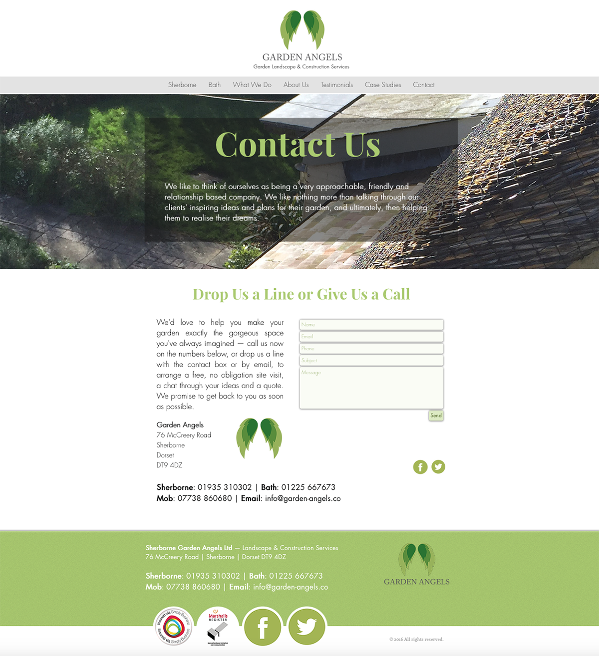 ls — Dorset Web Design Contact