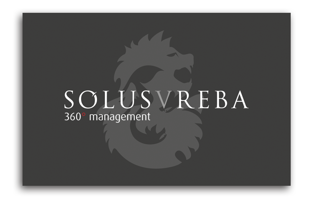 Solusvreba Business Card Design Dorset Front