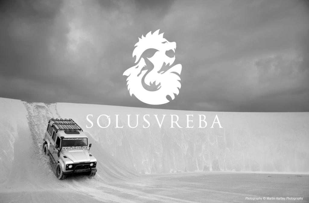 Solusvreba Logo Design Dorset Ice Jeep