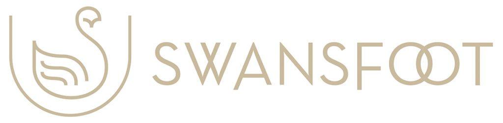 Swansfoot Horizontal Logo Design by Digiwool