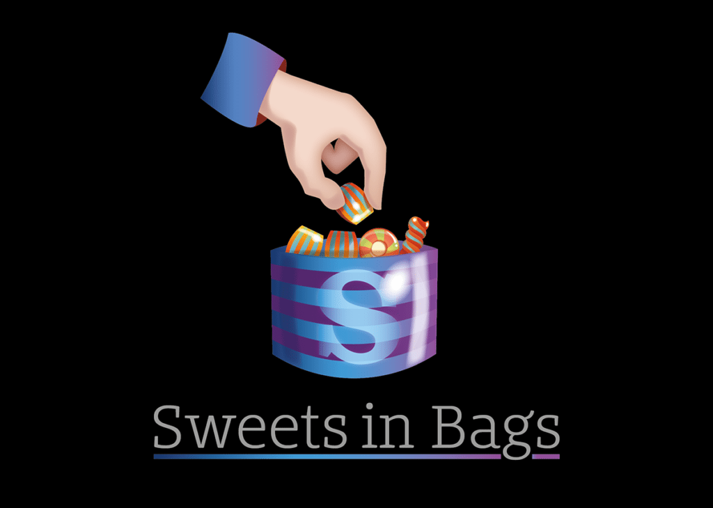 Sweets In Bags Logo Design Dorset