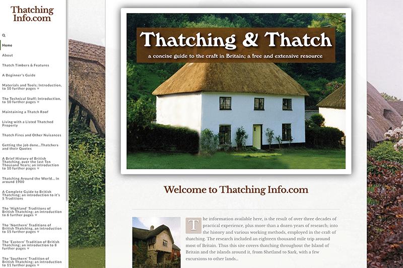 Thatching Info — Web Design Dorset