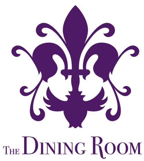 The Dining Room Sherborne Purple Logo Design by Digiwool