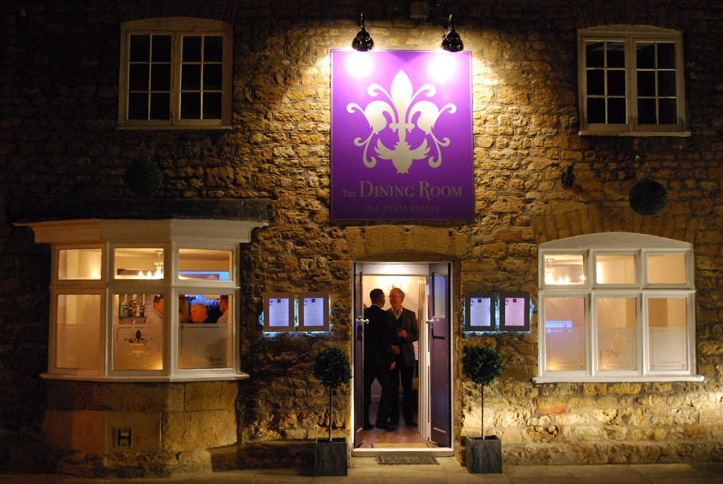 The Dining Room Sherborne Exterior Signage Design by Digiwool