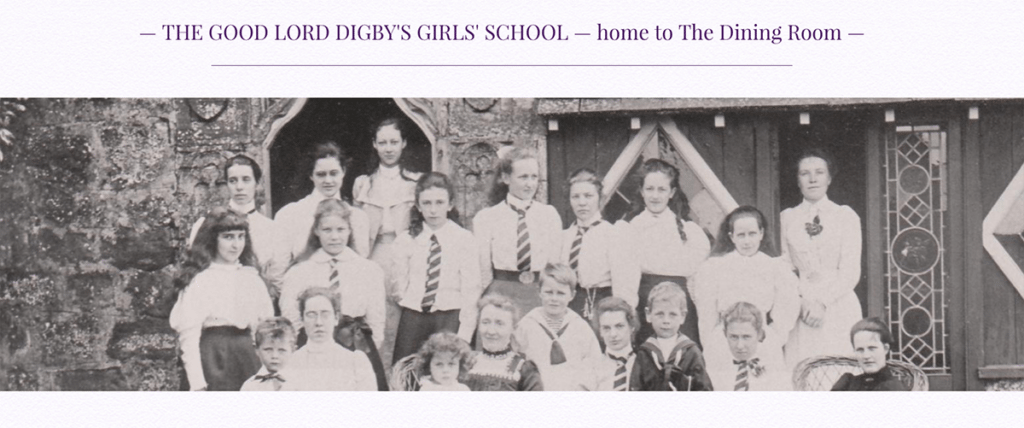 The Dining Room Sherborne Lord Digby's Girls' School by Digiwool Web Design