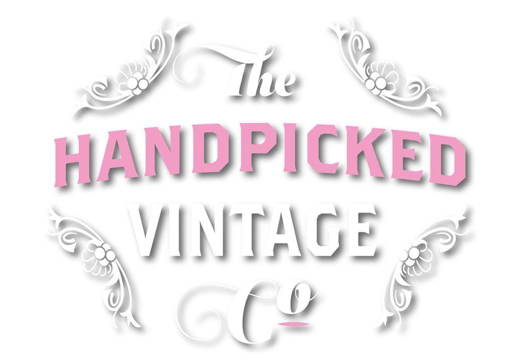 The Handpicked Vintage Co Logo Design Sherborne White
