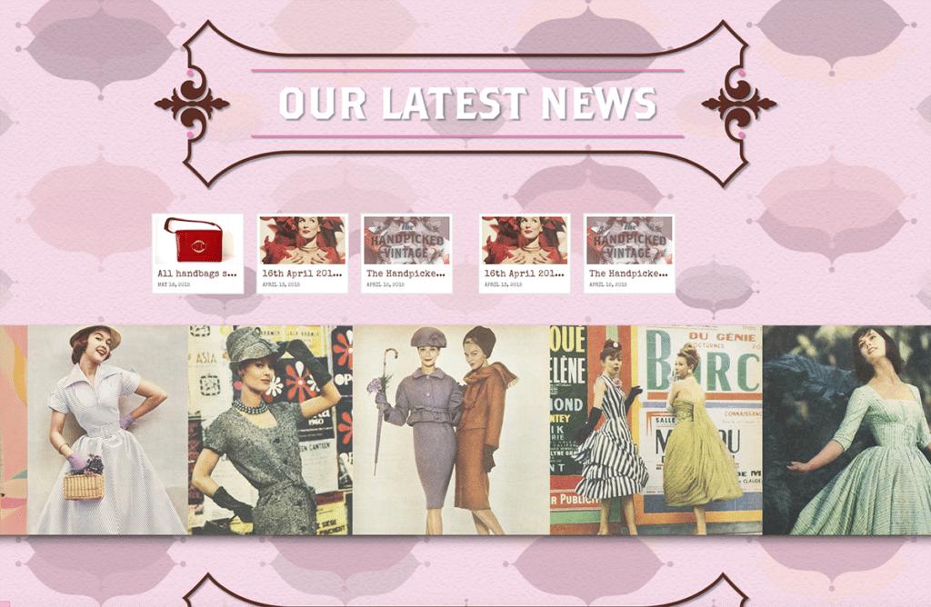The Handpicked Vintage Co eCommerce Web Design Dorset Latest News