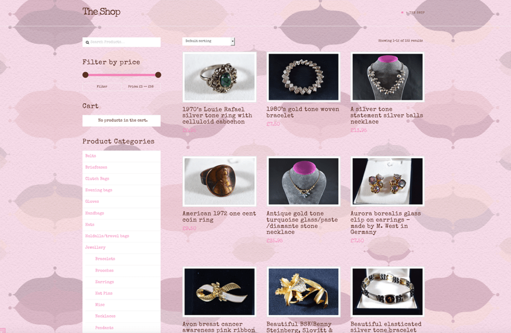 The Handpicked Vintage Co eCommerce Web Design Dorset Shop