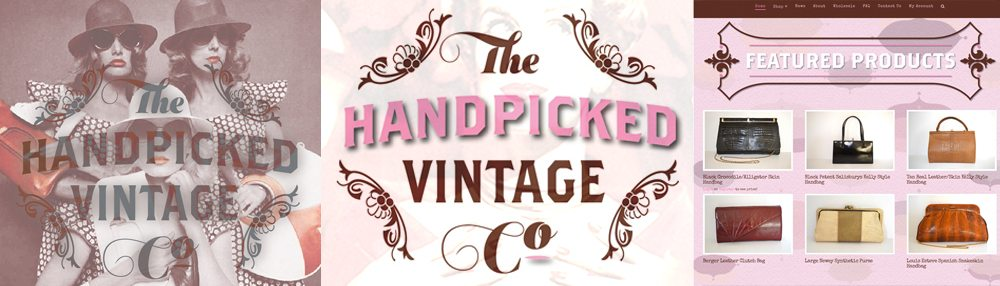 The Handpicked Vintage Co — e-Commerce Web Design Sherborne