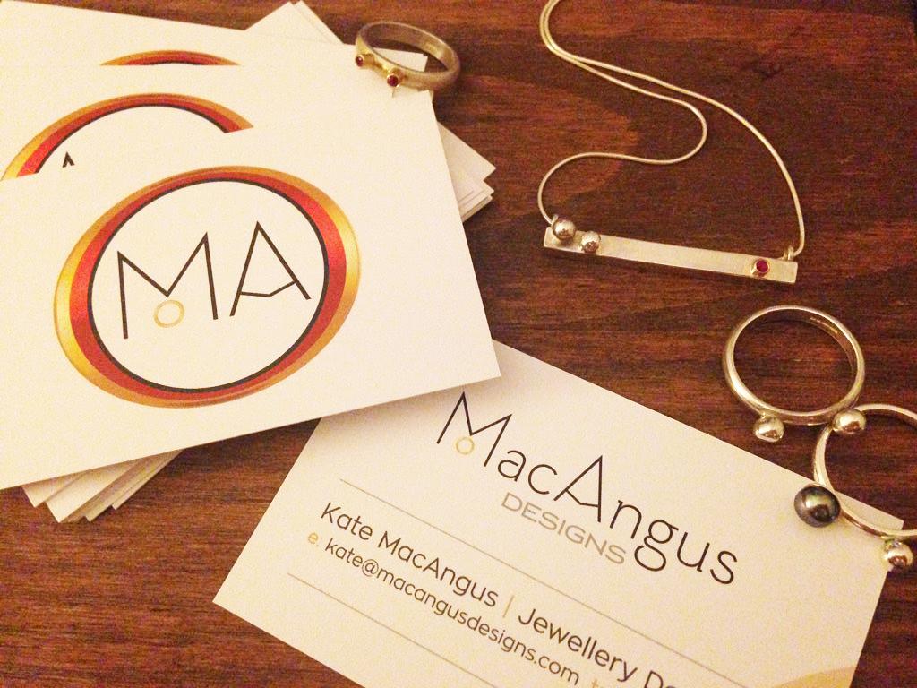 MacAngus Business Card Design Sherborne