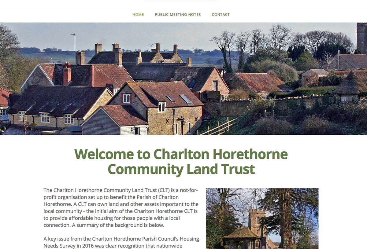 Charlton Horethorne Community Land Trust