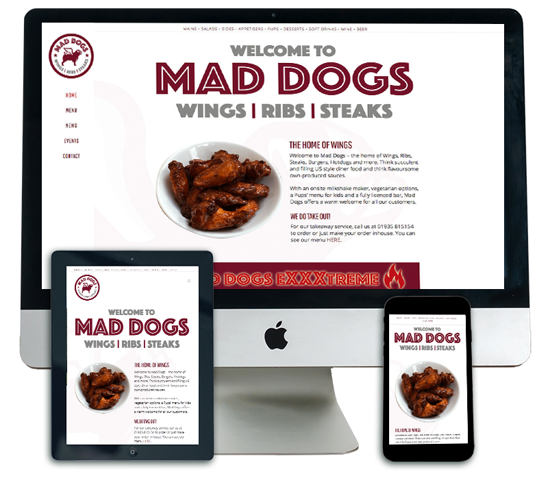 Mad Dogs Sherborne Website